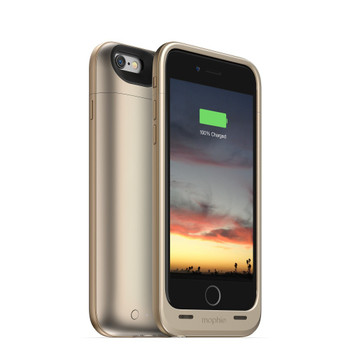 best service 3c628 2da89 mophie Juice Pack Case for Apple iPhone 6s Plus in Gold